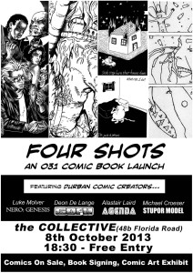 'Four Shots' Comic Book Launch