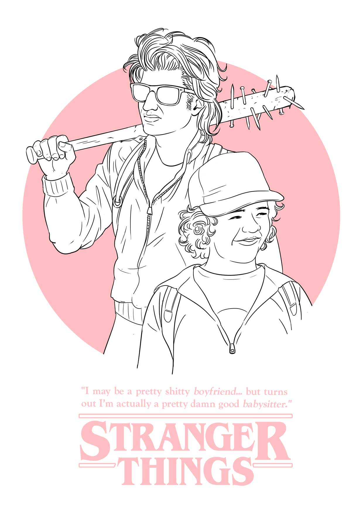 Stranger Things Fan Art 1 Luke Molver Illustrator Writer